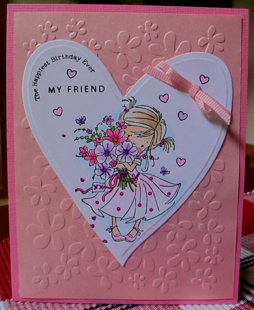 Funky Flowers Craft Concept Embossing Folder 900 027 8 99